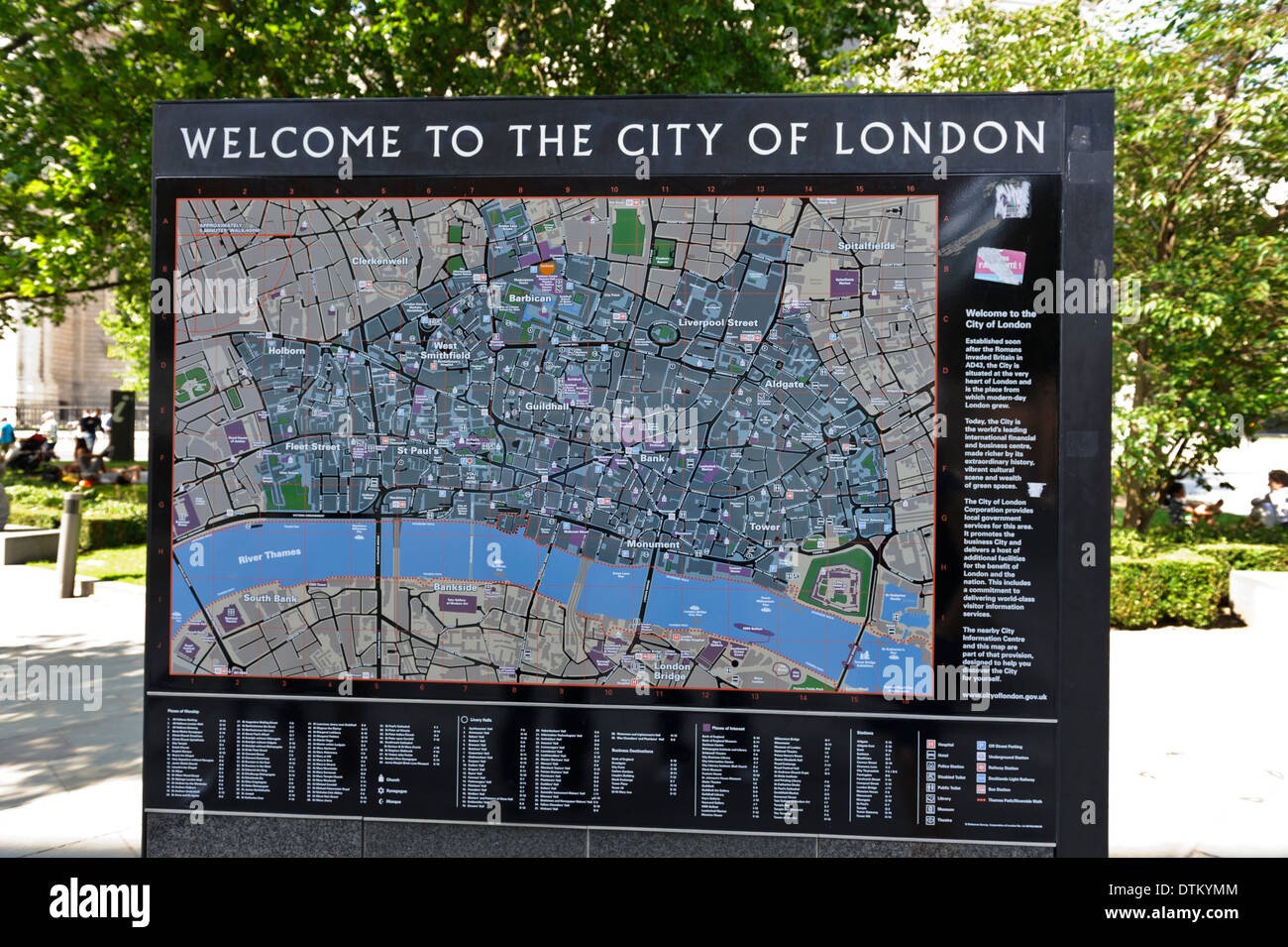 Map of city of london on display london england united kingdom map of city of london on display london england united kingdom gumiabroncs Gallery