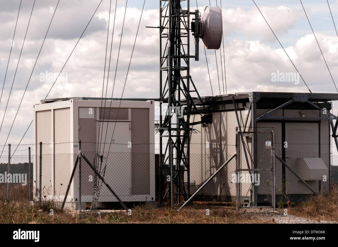 Telecommunications equipment - Stock Image