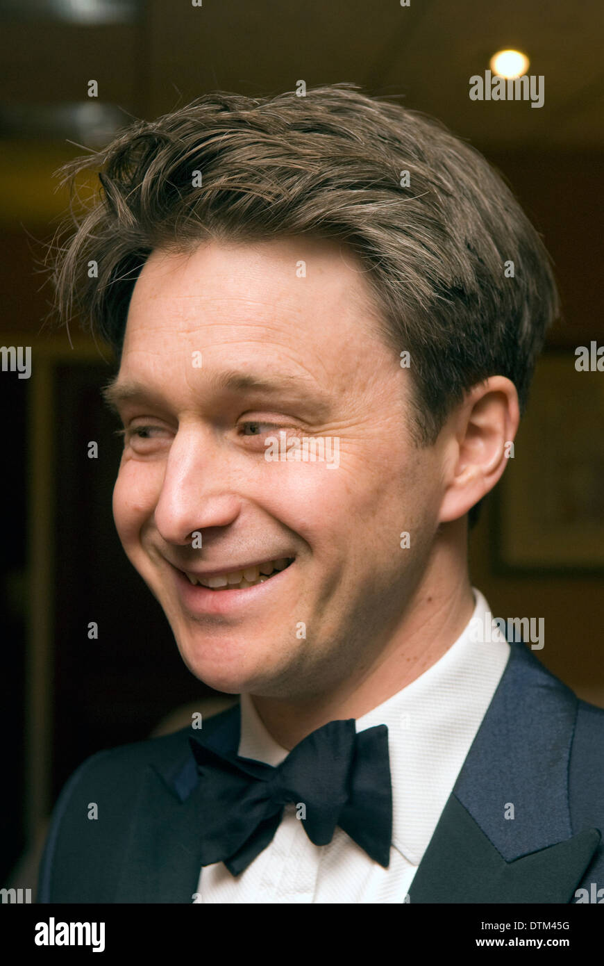 TV antiques expert Jonathan Pratt at a fundraising event, Haslemere, Surrey, UK. - Stock Image