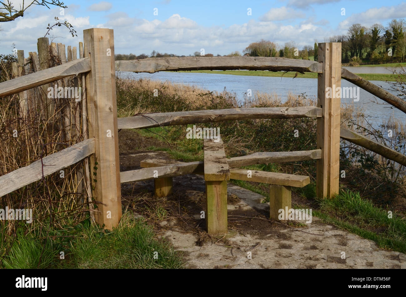 Country Stile Gate Stock Photo 66825991 Alamy