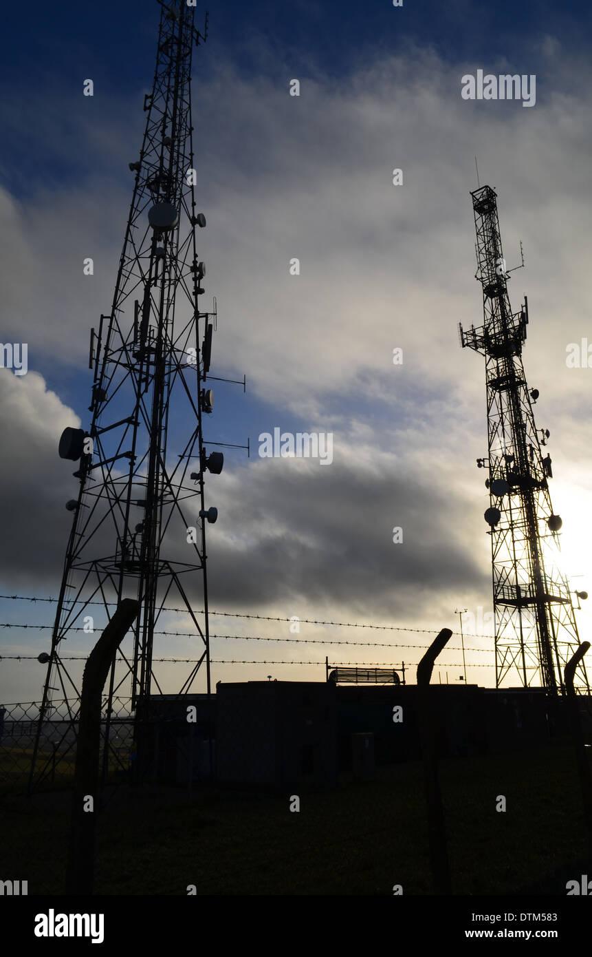 Radio Mast Radio Masts Stock Photos & Radio Mast Radio