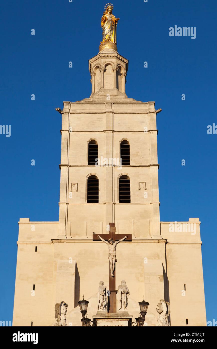 Metropole Notre Dame des Doms in Avignon, France. - Stock Image