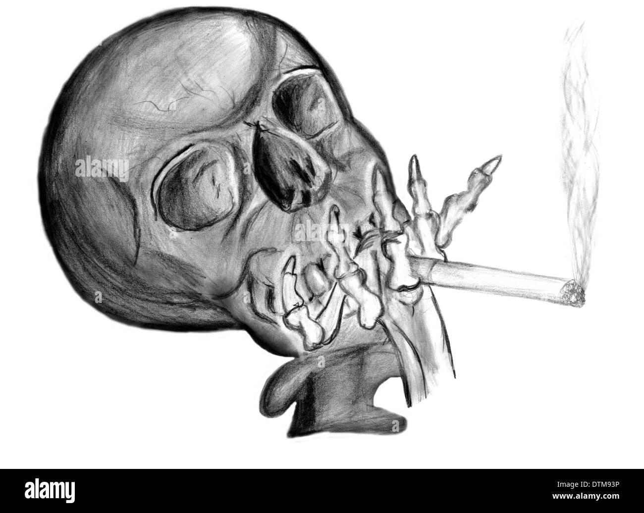 Smoking drawing stock photos smoking drawing stock images