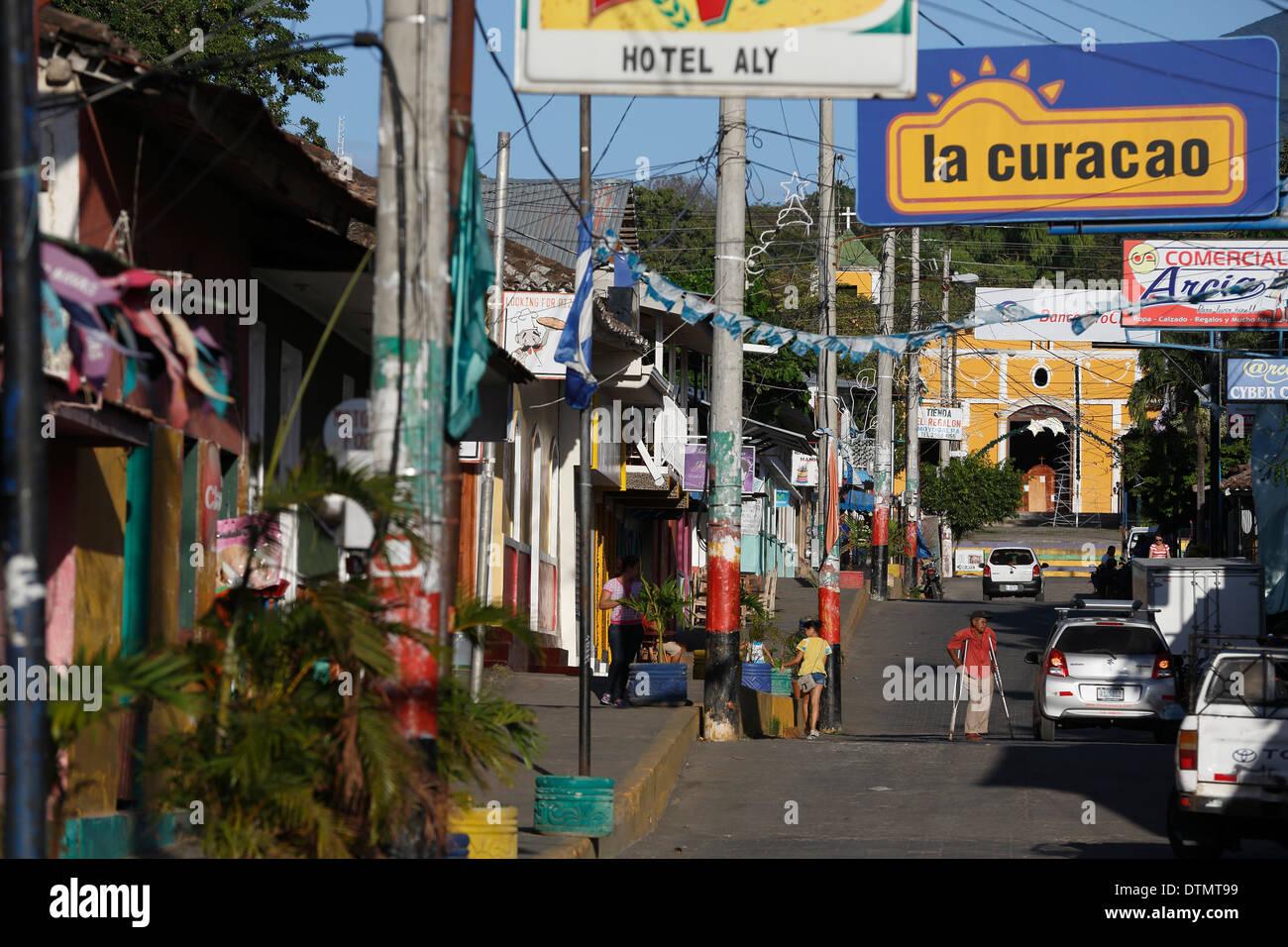 Moyogalpa, Ometepe Island, Nicaragua Stock Photo