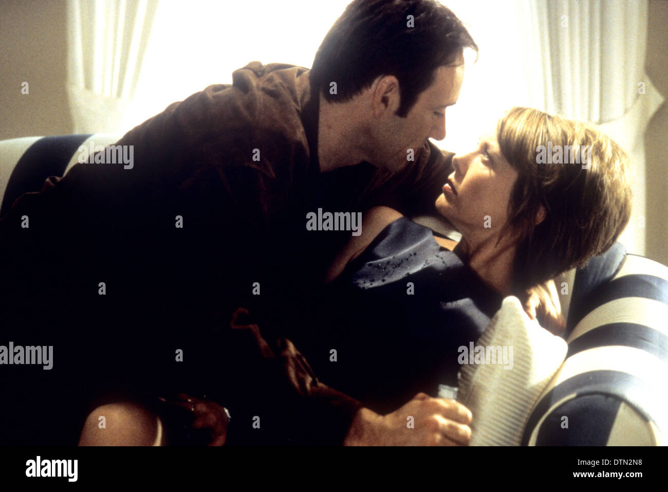 AMERICAN BEAUTY 1999 DreamWorks SKG film with Annette Bening and Kevin Spacey - Stock Image