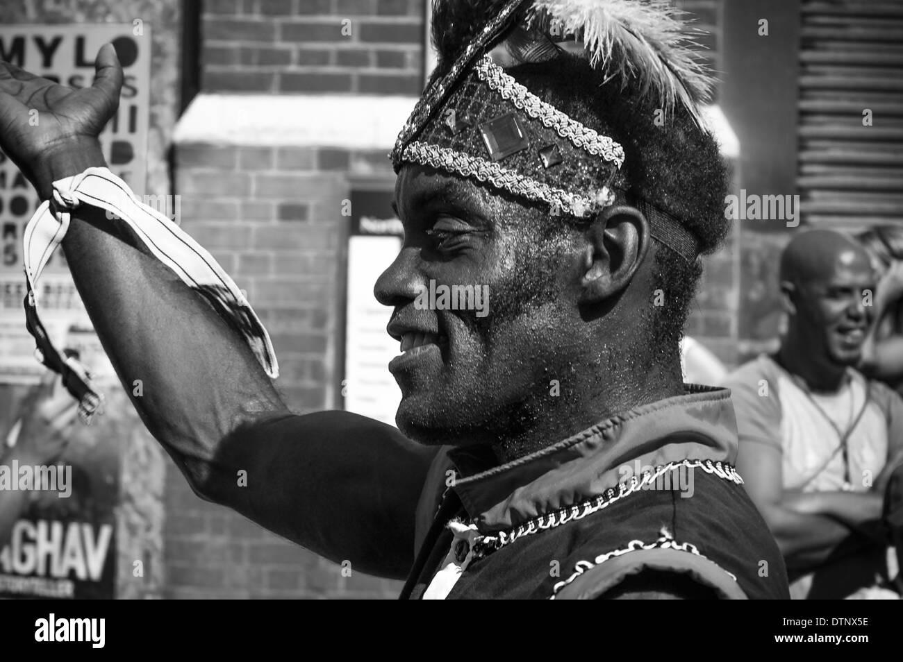 Notting Hill Carnival, London, UK - Stock Image