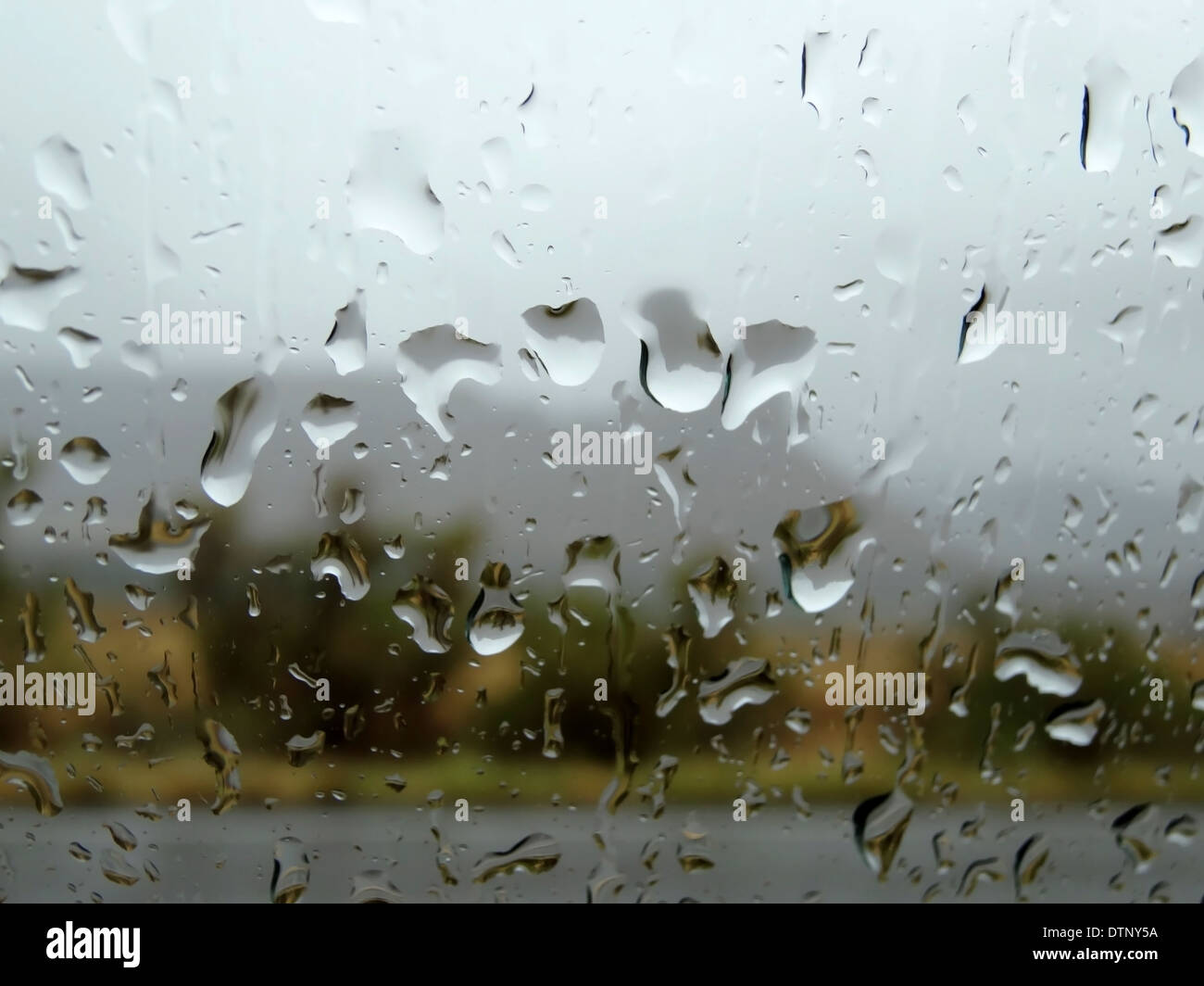 It is raining - Stock Image