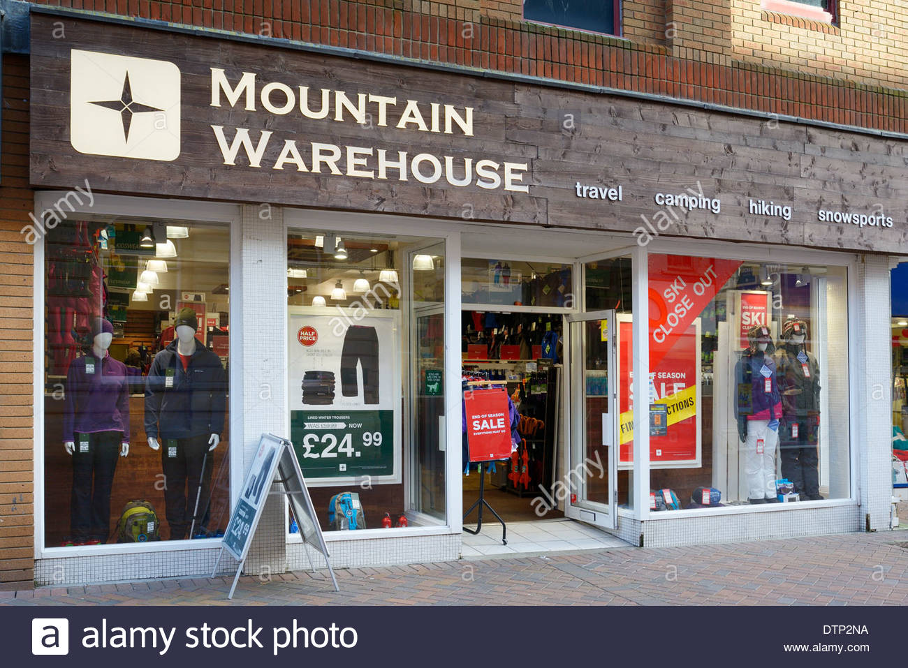 Outdoor clothing stores