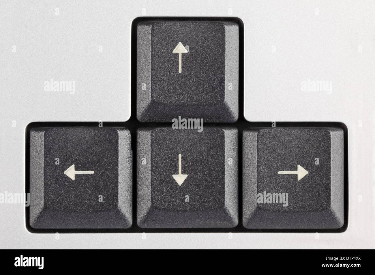 Arrow Keys On Keyboard Stock Photo 66869682 Alamy