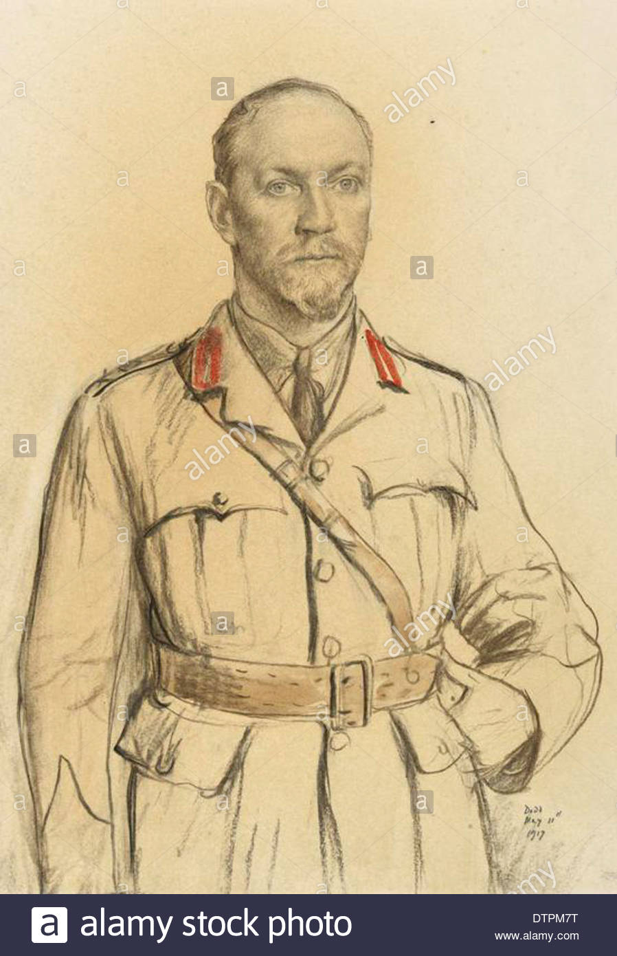 General the Right Hon Jan Christian Smuts, Pc, Kc 1827 - Stock Image