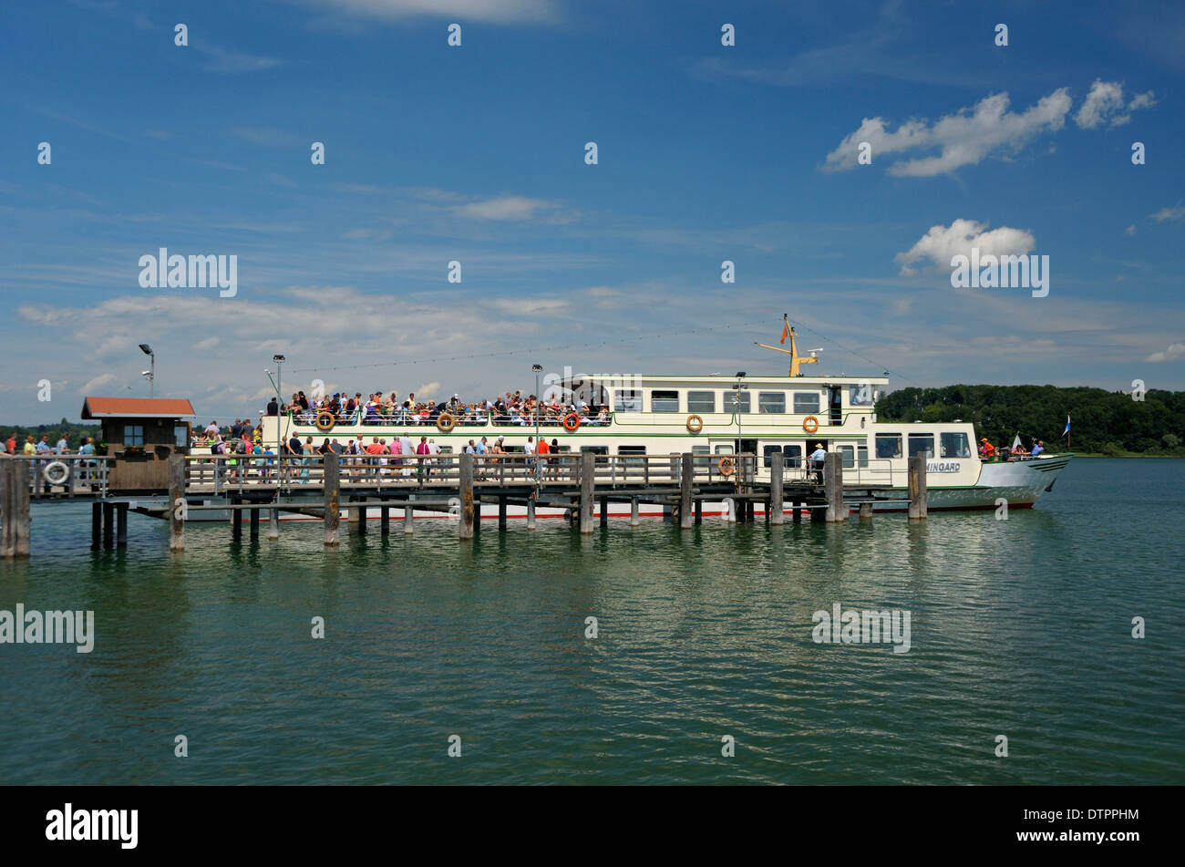 Herrenchiemsee, Chiemsee, Bavaria, Germany - Stock Image