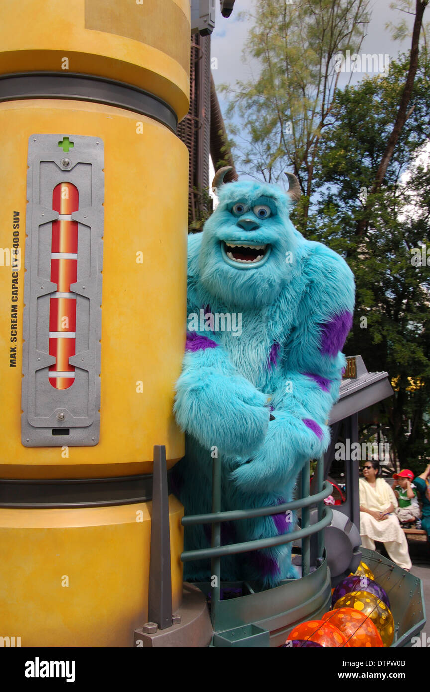 sully from the movie monster inc at walt disney s world hollywood
