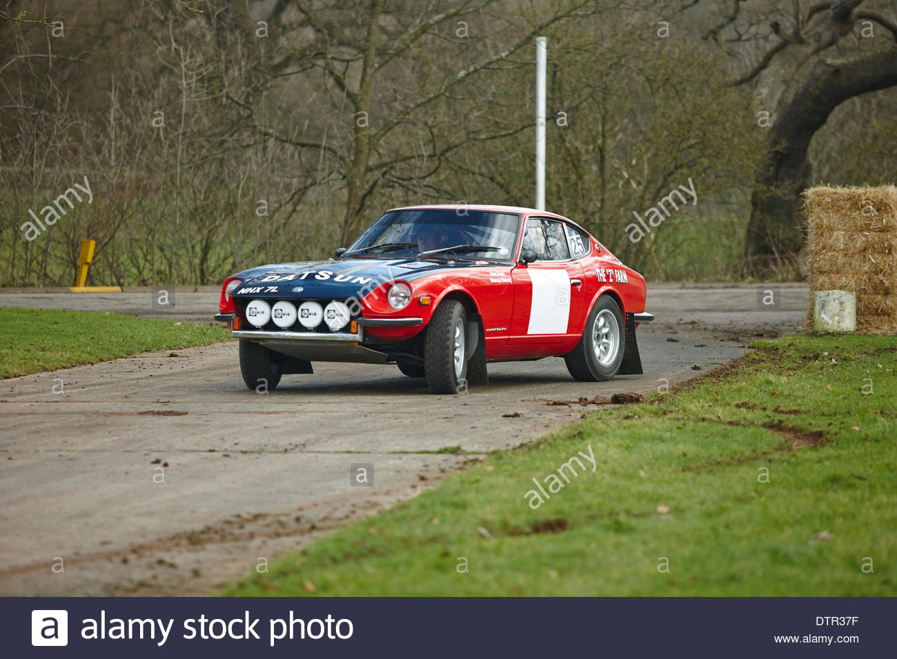Stoneleigh Park, Warwickshire, UK. 21st Feb, 2014. Datsun 240Z rally ...