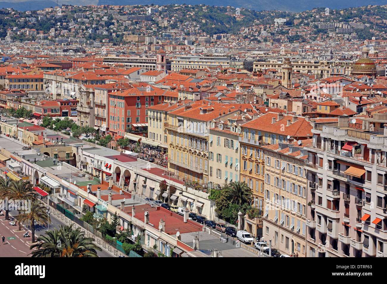Nice, Alpes-Maritimes, Provence-Alpes-Cote d'Azur, Southern France - Stock Image