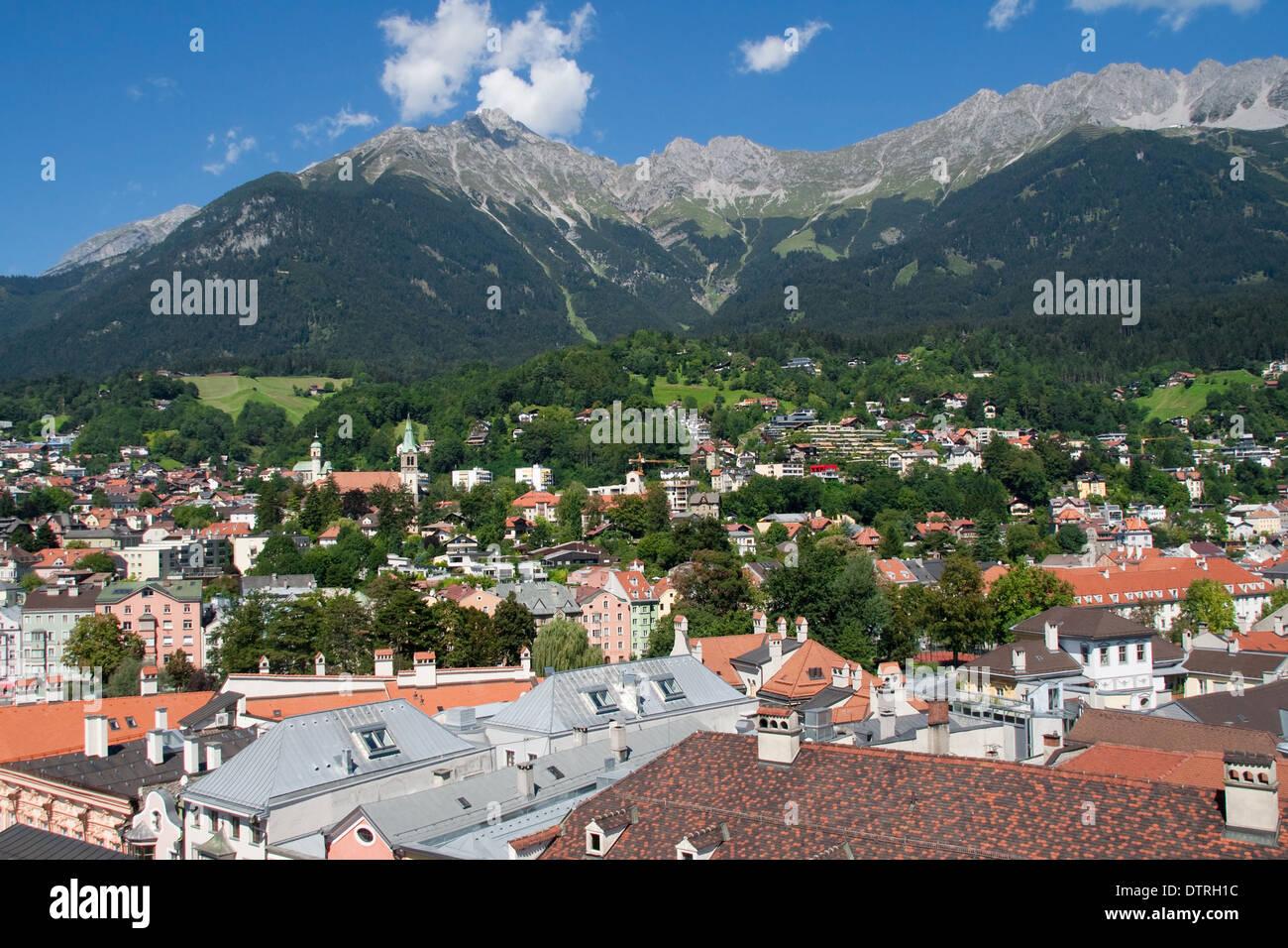 Cultural Landscape of Innsbruck-Nordkette/Karwendel. - Stock Image