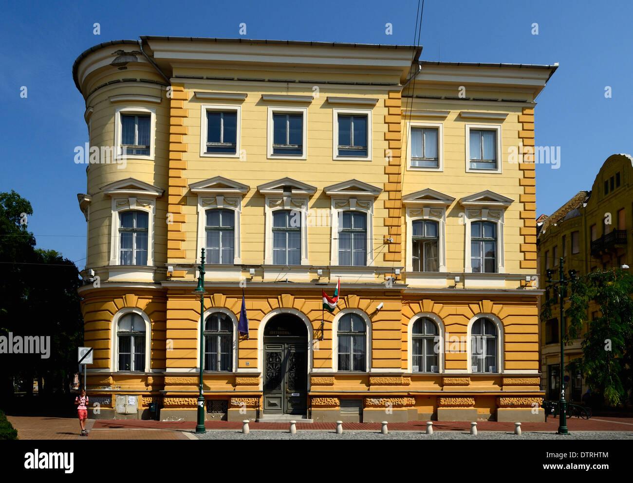 Jurisprudential State University building Szeged Hungary - Stock Image