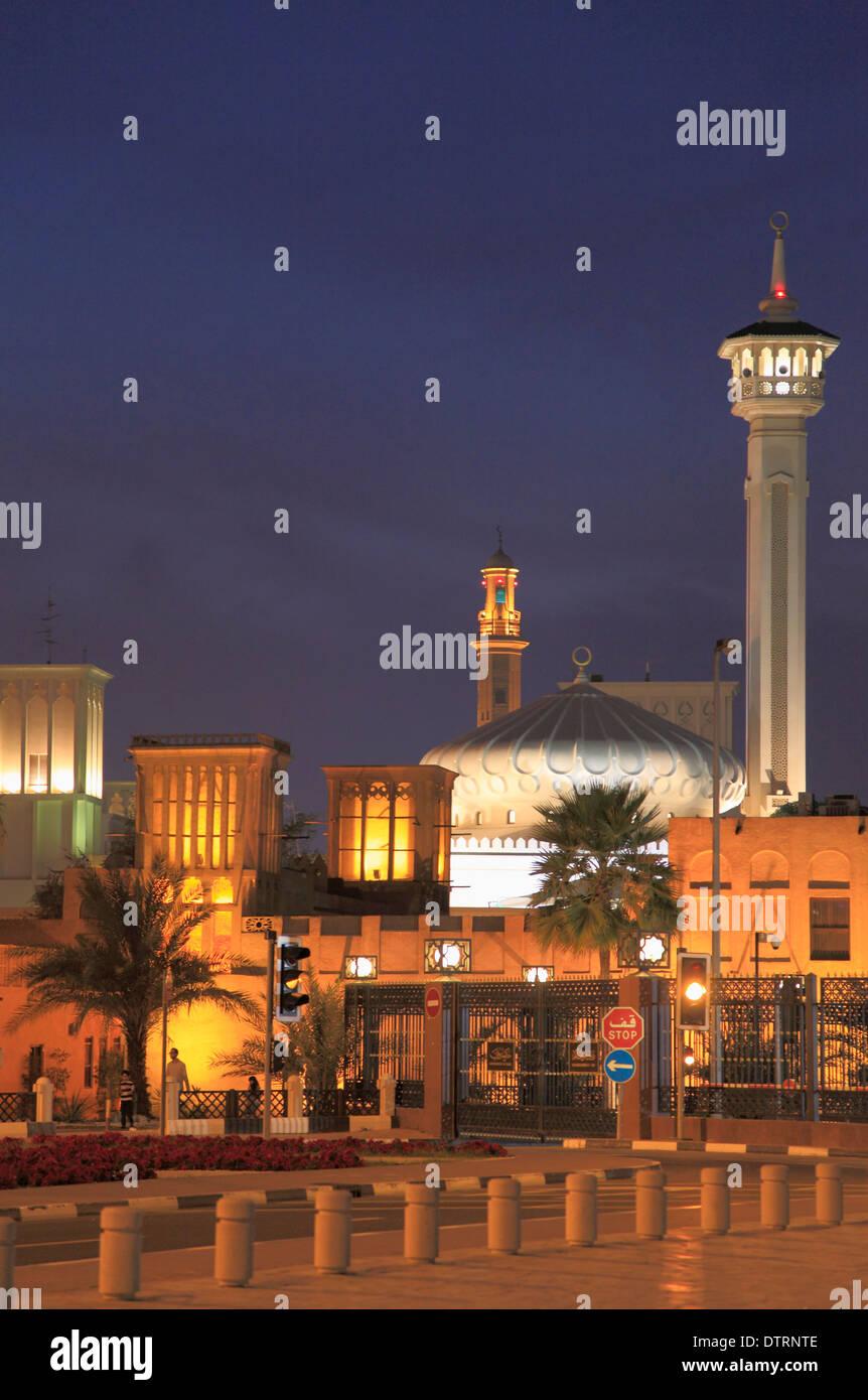 United Arab Emirates, Dubai, Bastakia Quarter, Ruler's Court, Stock Photo