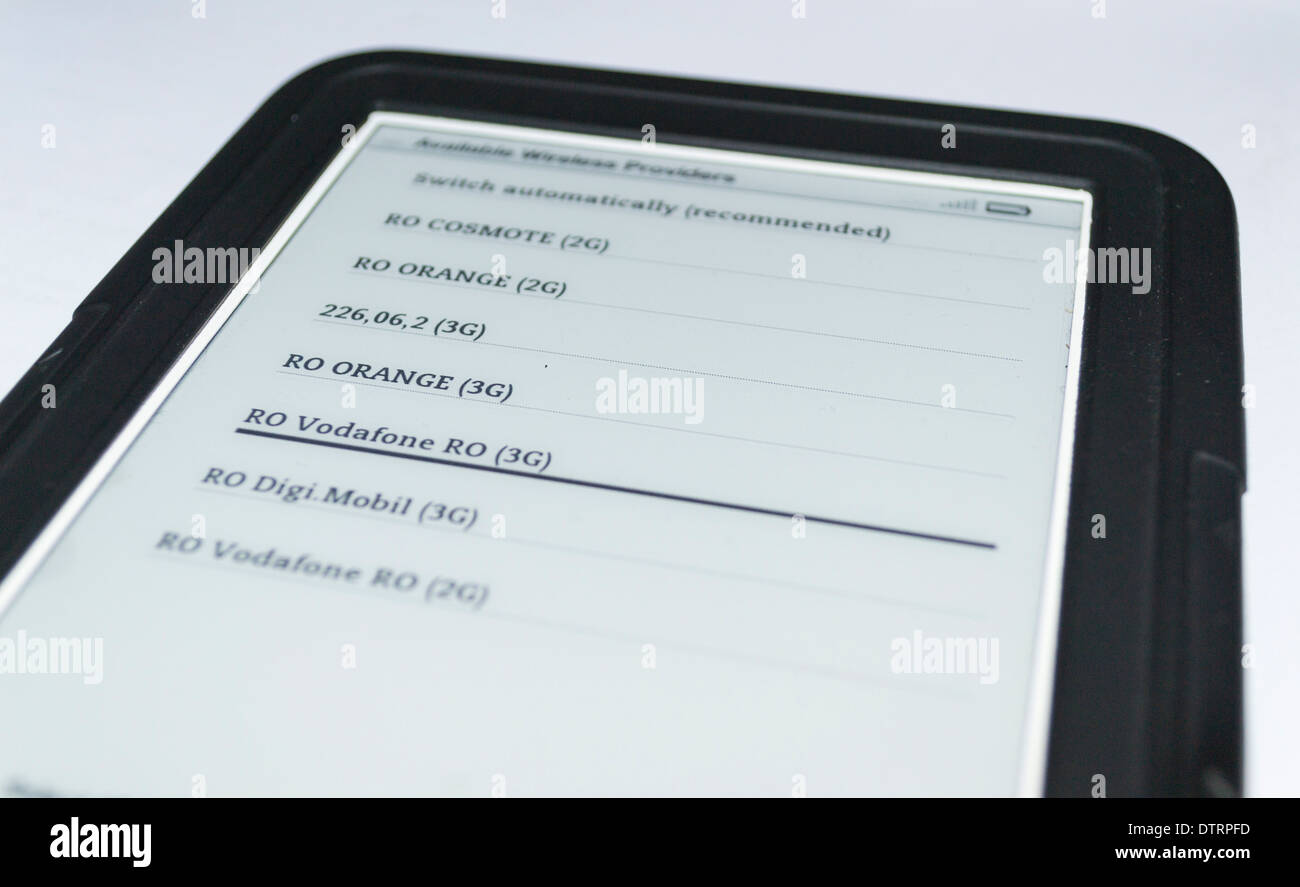 Kindle Keyboard 3 upgrade Stock Photo: 66905425 - Alamy