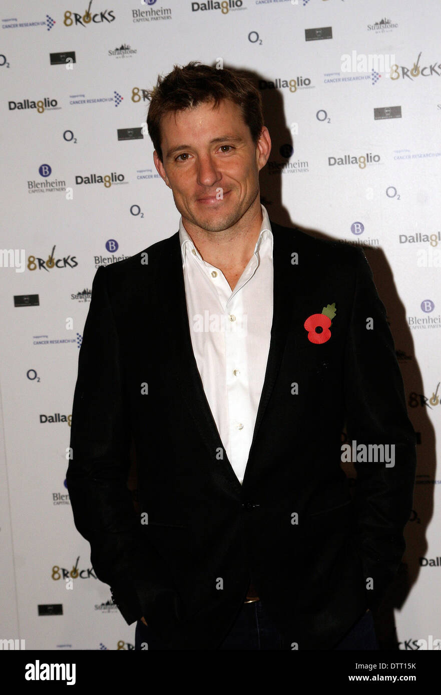 TV presenter Ben Shephard attending the Cancer Research Charity event in London - Stock Image
