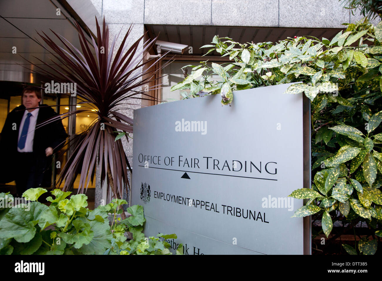 Office of Fair Trading and Employment Appeal Tribunal, London - Stock Image