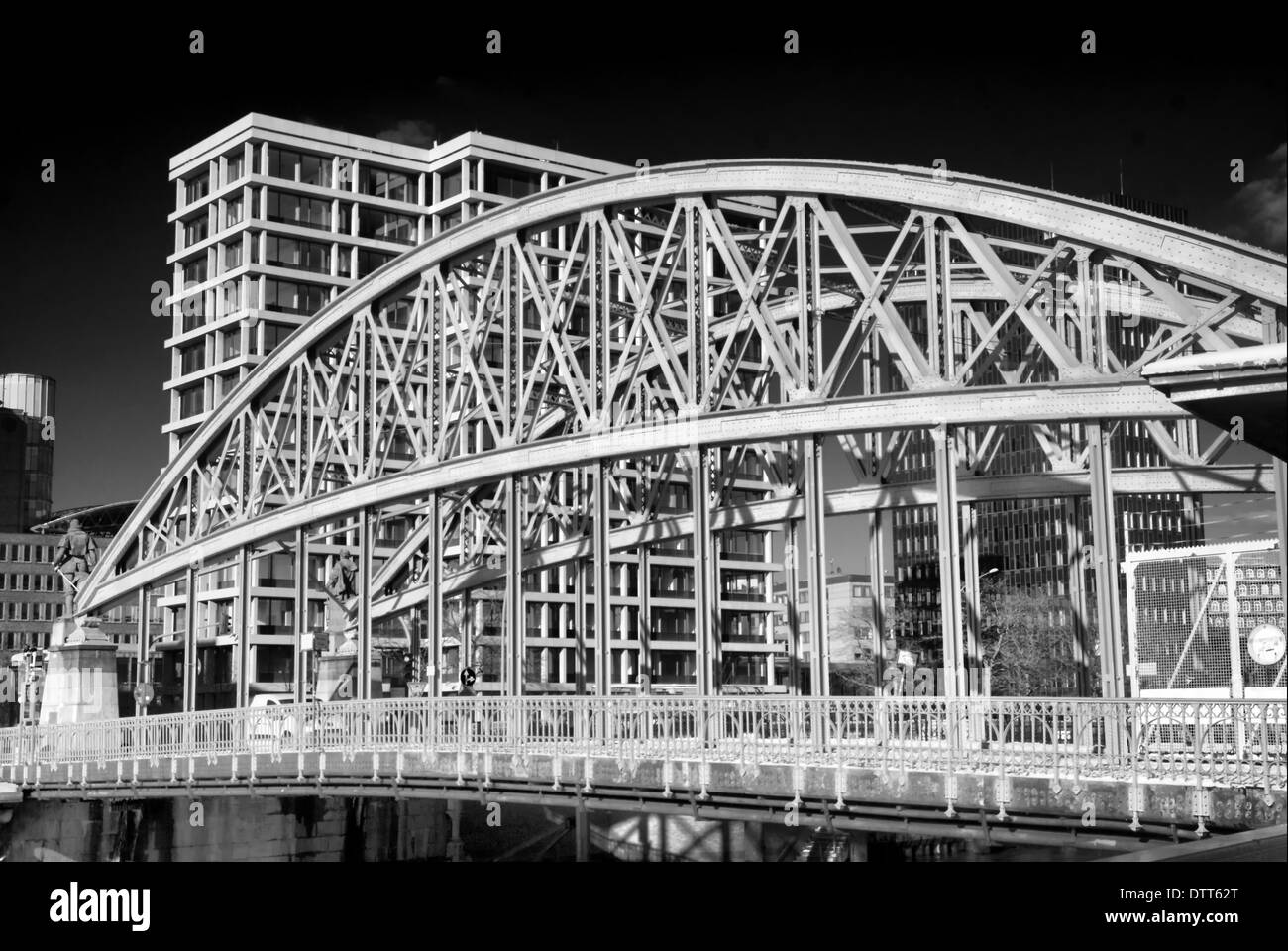Hamburg and its Bridges Stock Photo