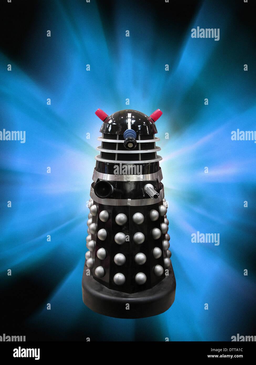 Dalek. - Stock Image