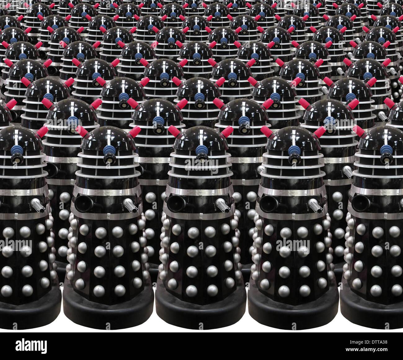 Daleks - Stock Image