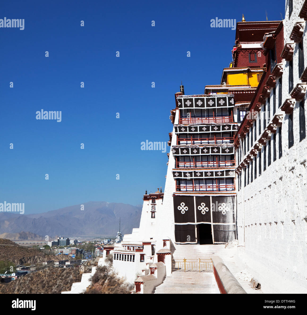 Potala - Stock Image