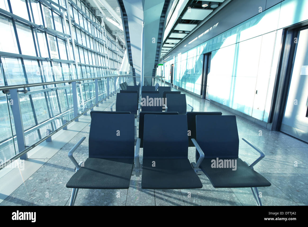 In airport - Stock Image