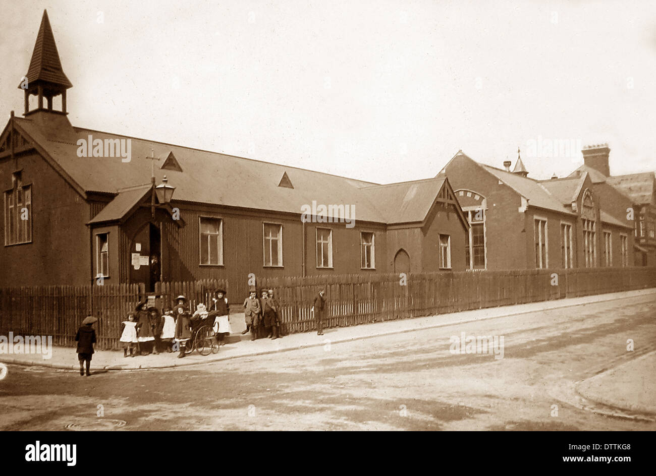 Lowestoft St. Andrew's School Victorian period - Stock Image