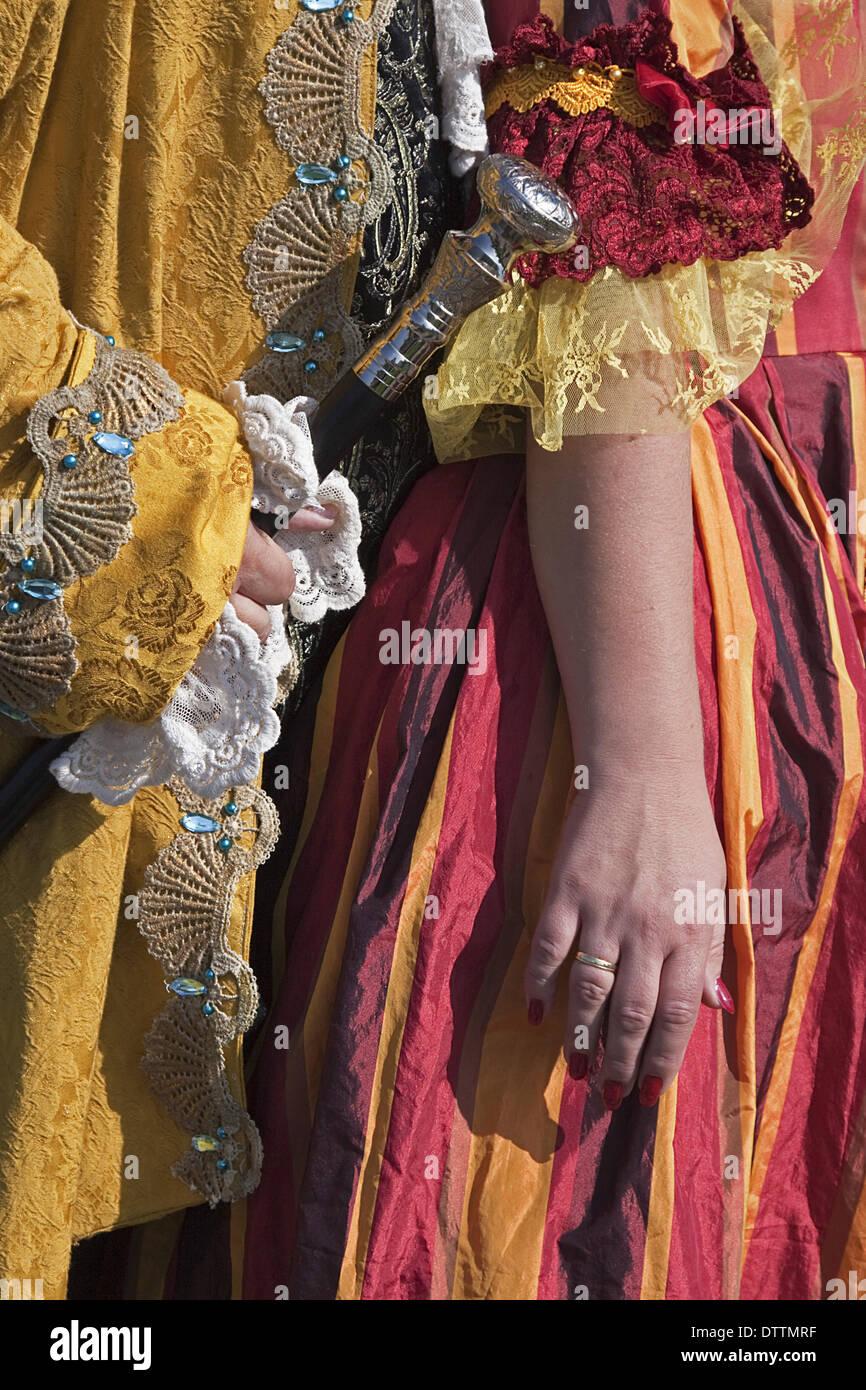 Baroque clothing Stock Photo