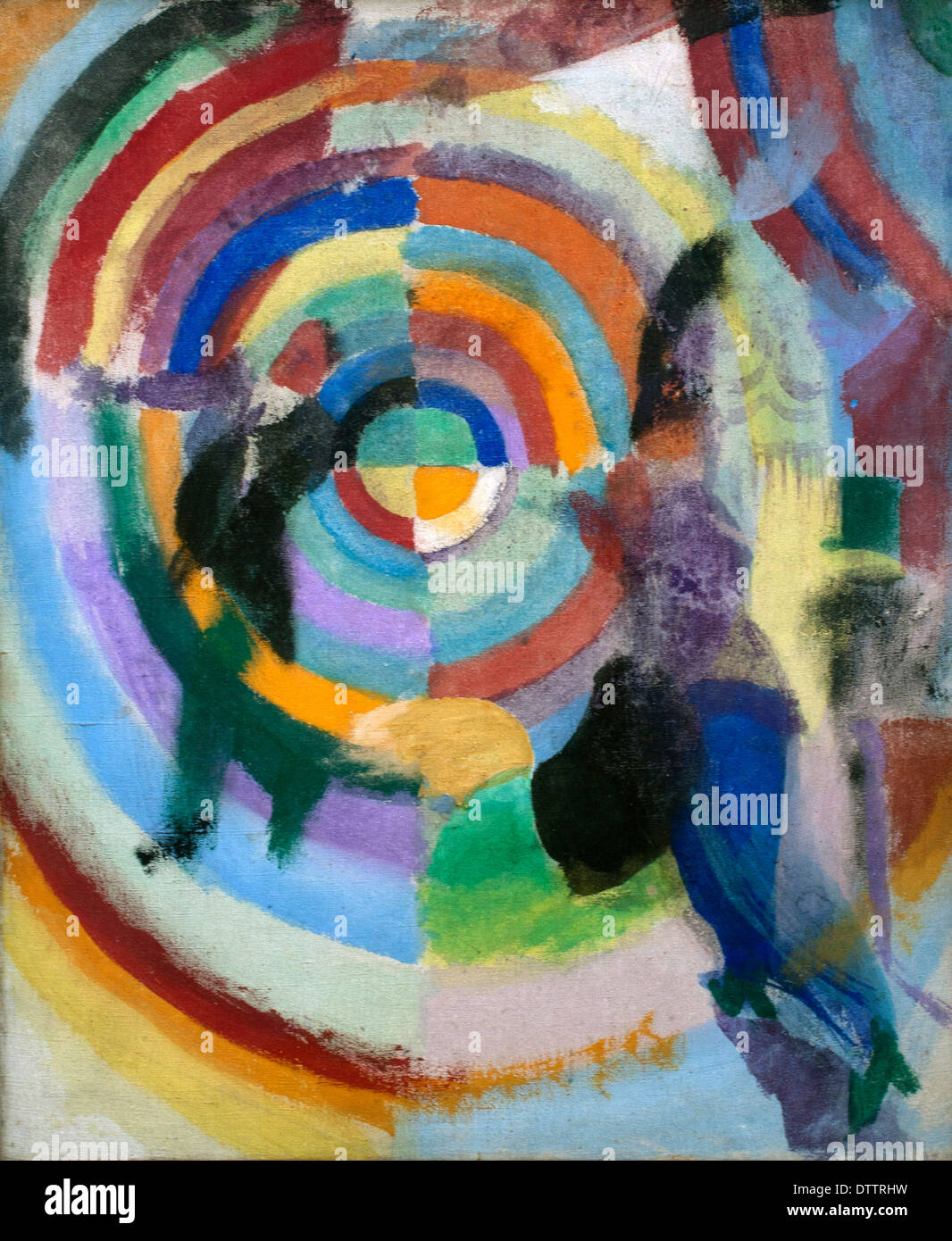 Drama Politique - Drama Policy 1914 Robert Delaunay  1885-1941 France French - Stock Image