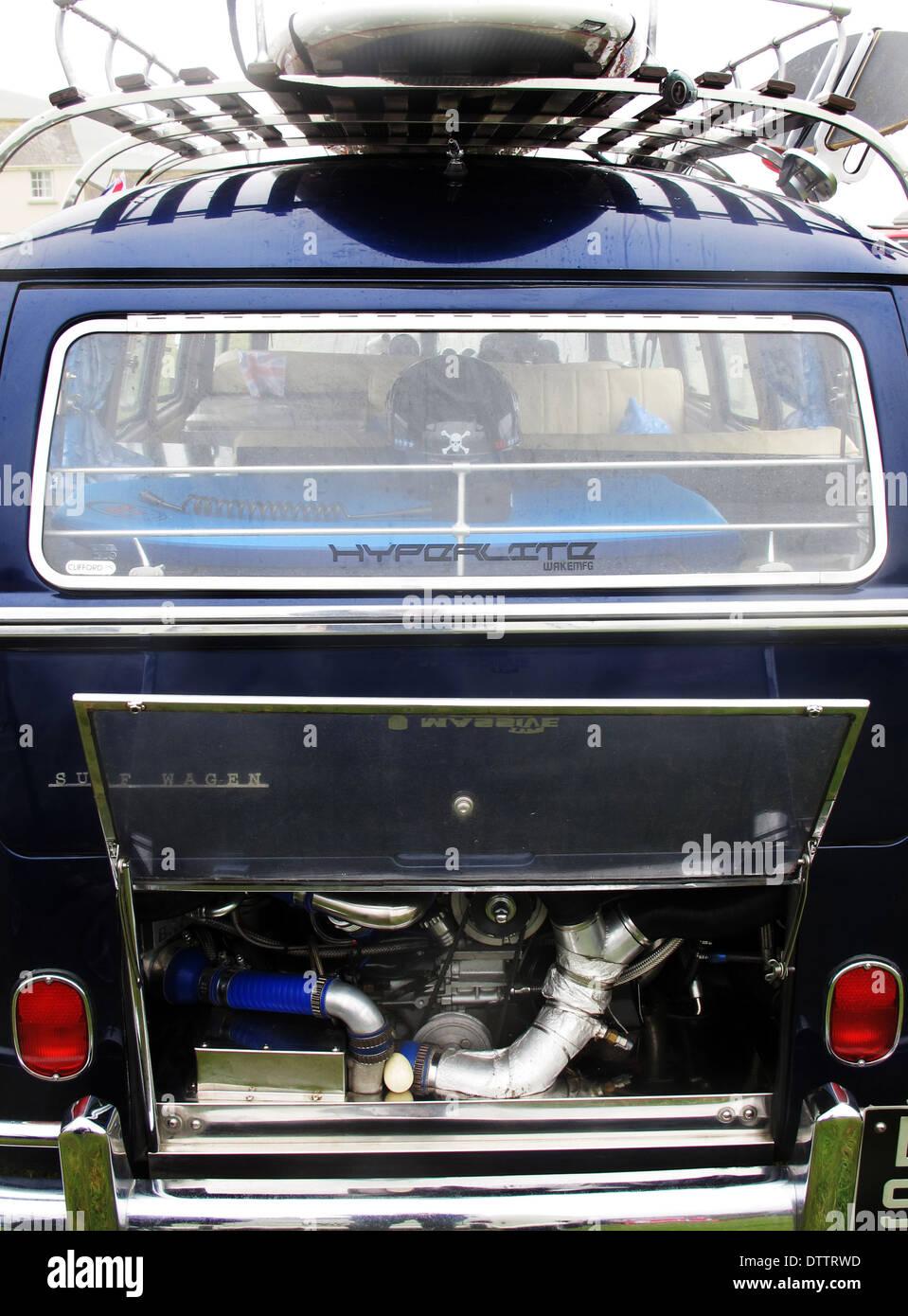 VW Camper Van - Stock Image