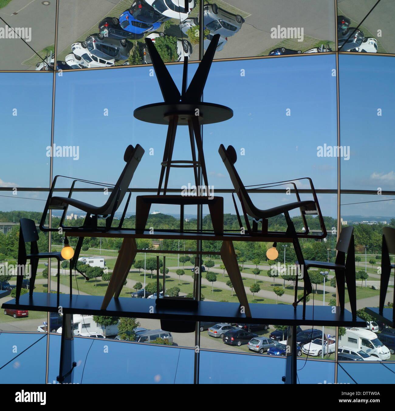 vitra design museum,wil am rhein,germany - Stock Image