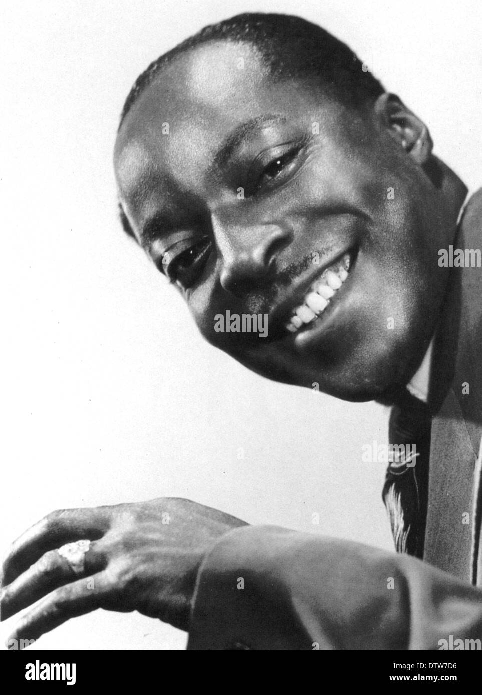 CECIL GRANT (1913-1951) US Blues singer - Stock Image