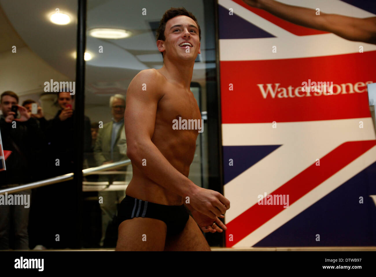 Tom Daley Diver Signed London 2012 Photograph Sports Memorabilia London 2012