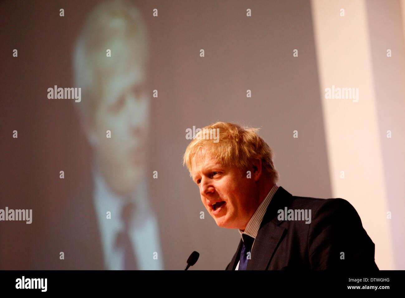 People's Question Time - Boris Johnson - Stock Image
