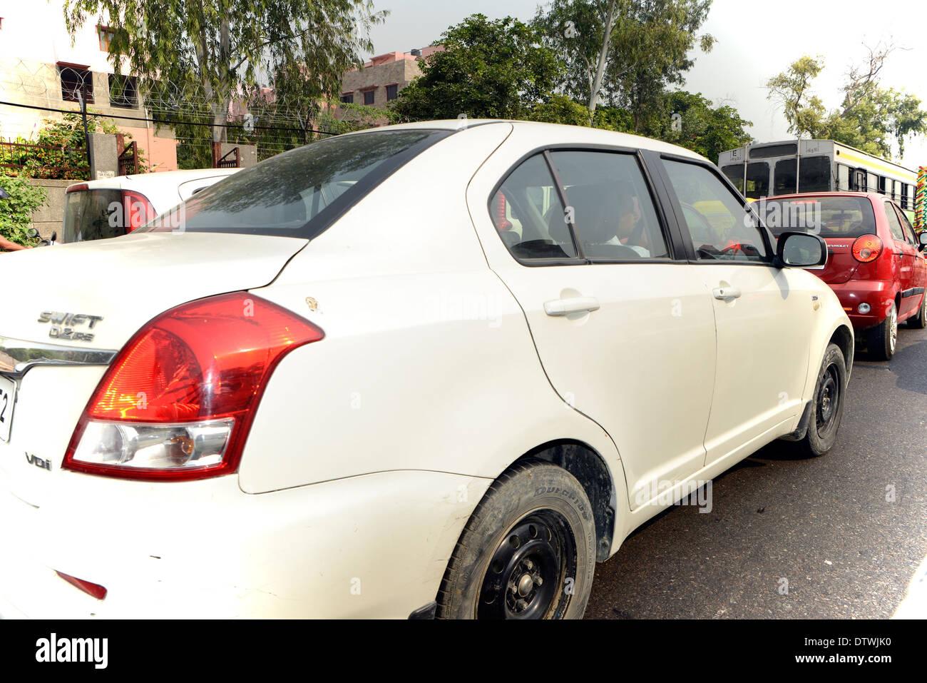 car,automobile,vehicle,motorcar,transport,traffic,road - Stock Image