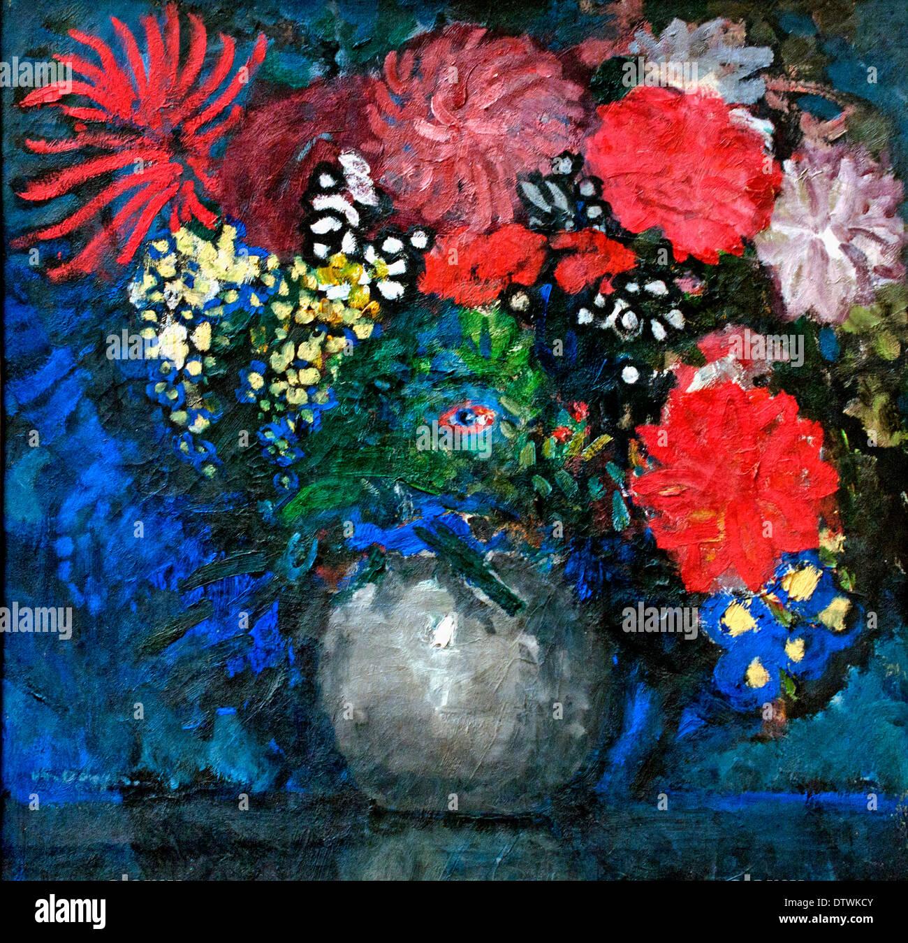 Flowers 1910 Ernst Ludwig Kirchner 1880 -1938 German Germany - Stock Image