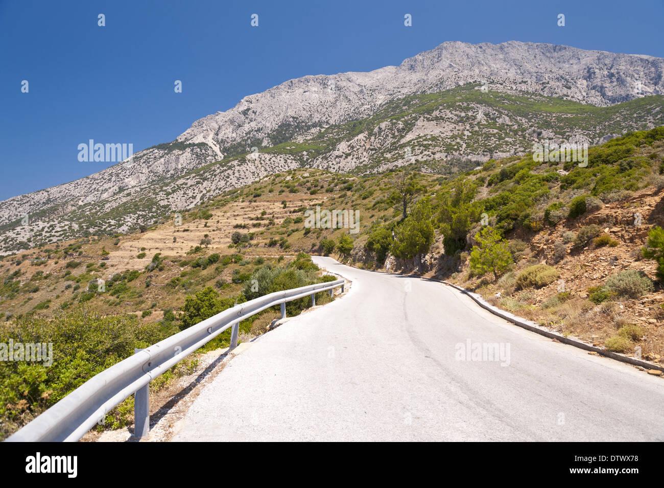 Landscape on Samos - Stock Image