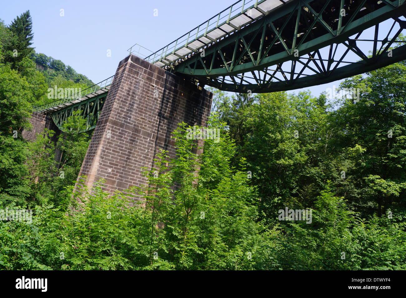 wutach bridge Stock Photo