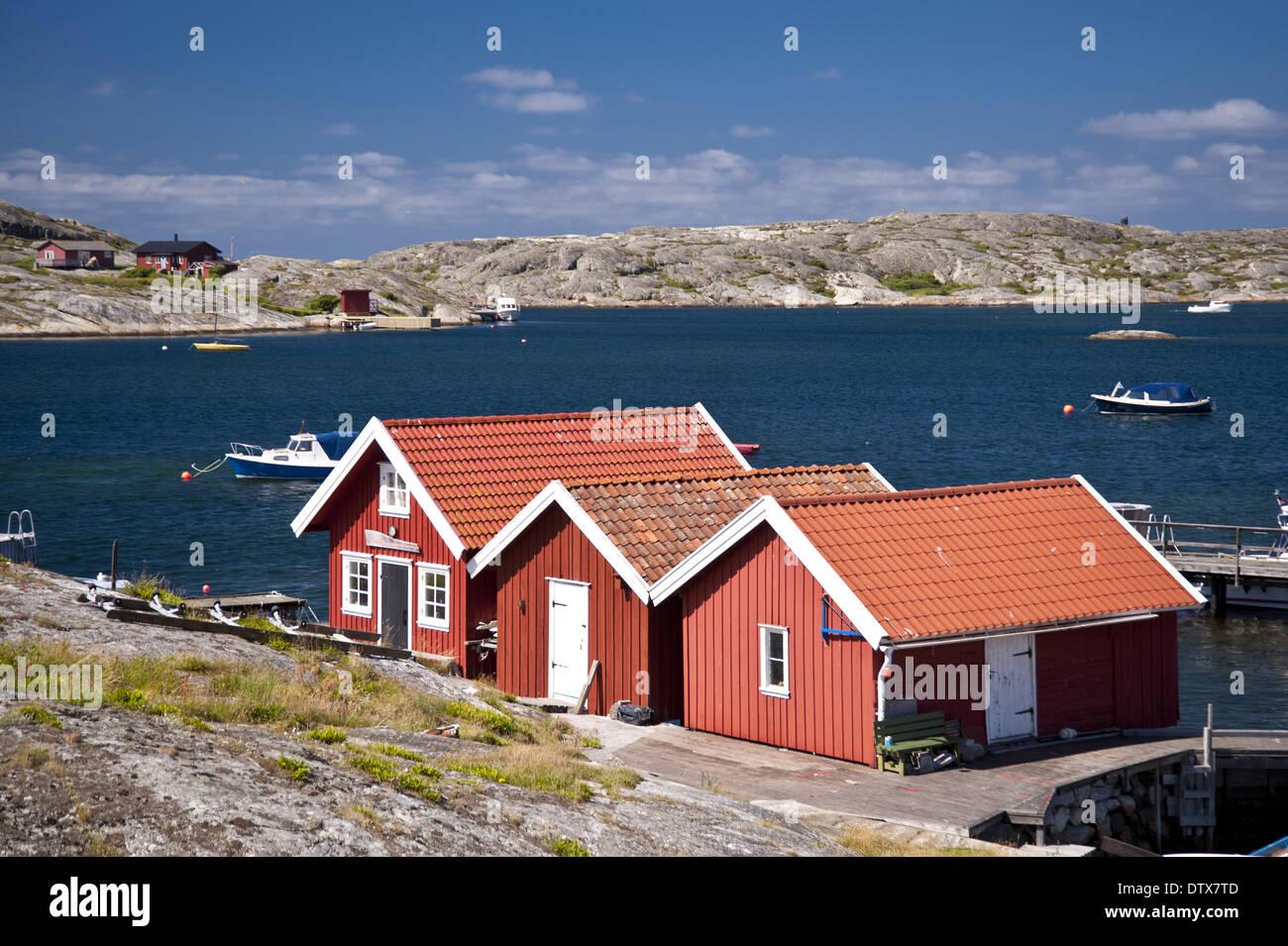 Kaeringoen in Sweden Stock Photo