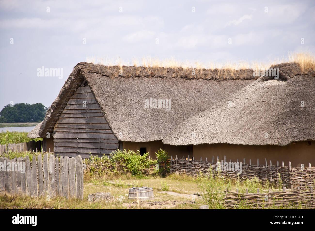 Viking Village - Stock Image
