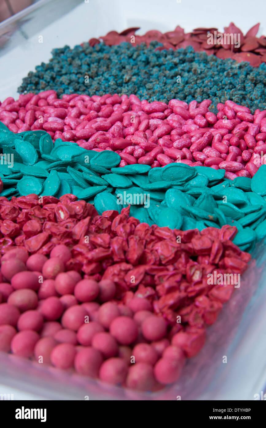 coloured seeds  desertech agriculture fair  Hatseva  Arava