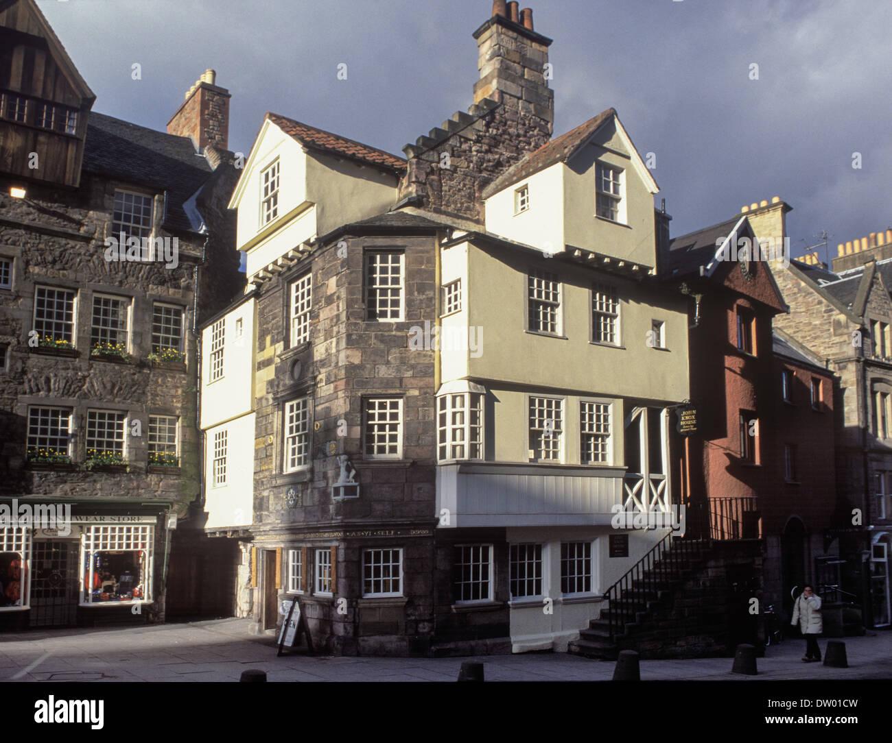 John Knox House Stock Photo
