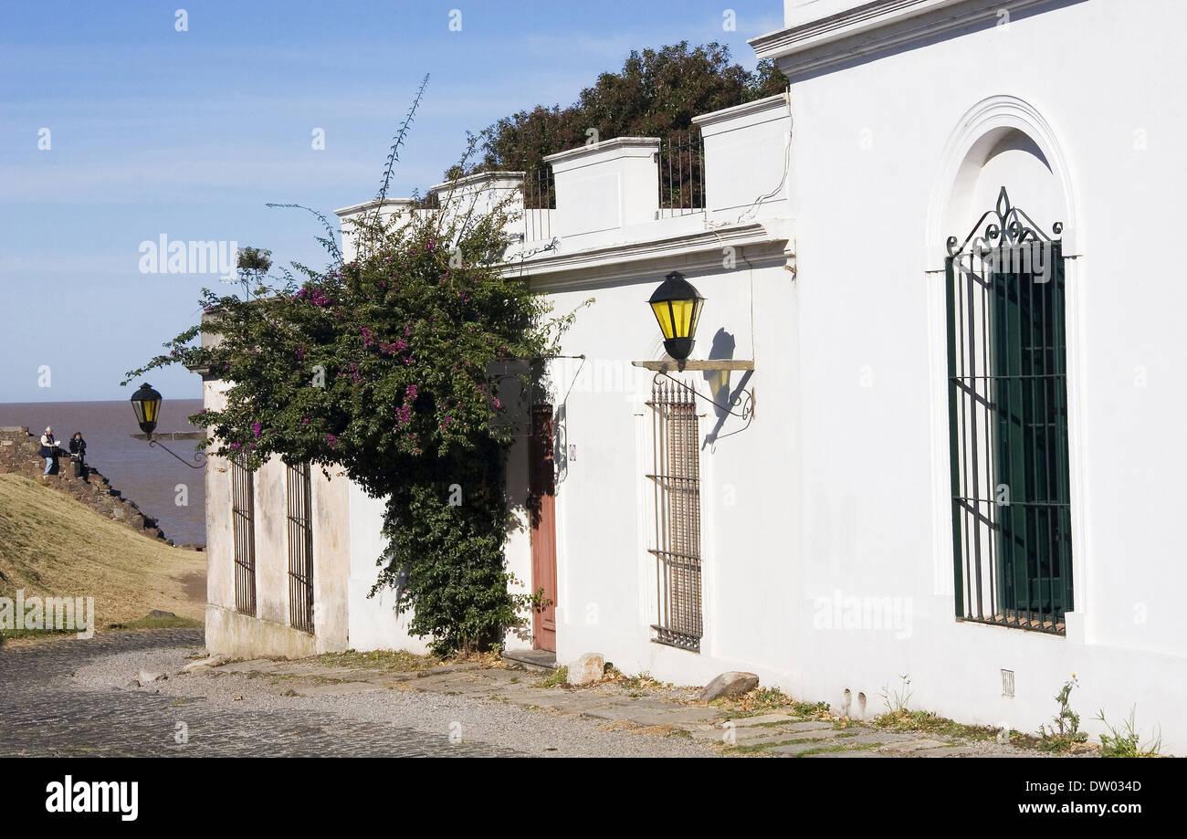 Colonia del Sacramento, Uruguay - Stock Image