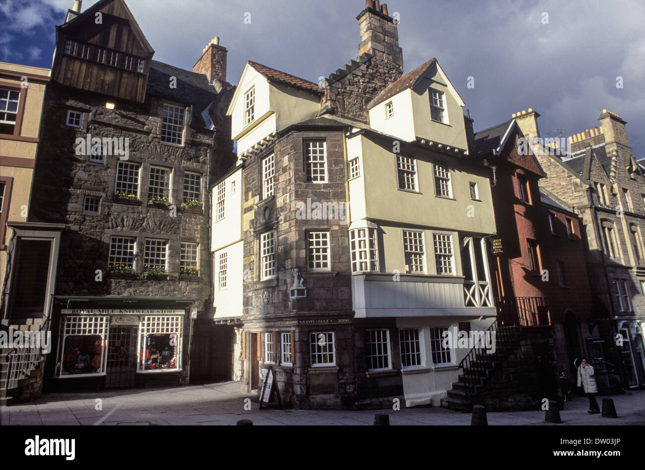John Knox House Stock Photo