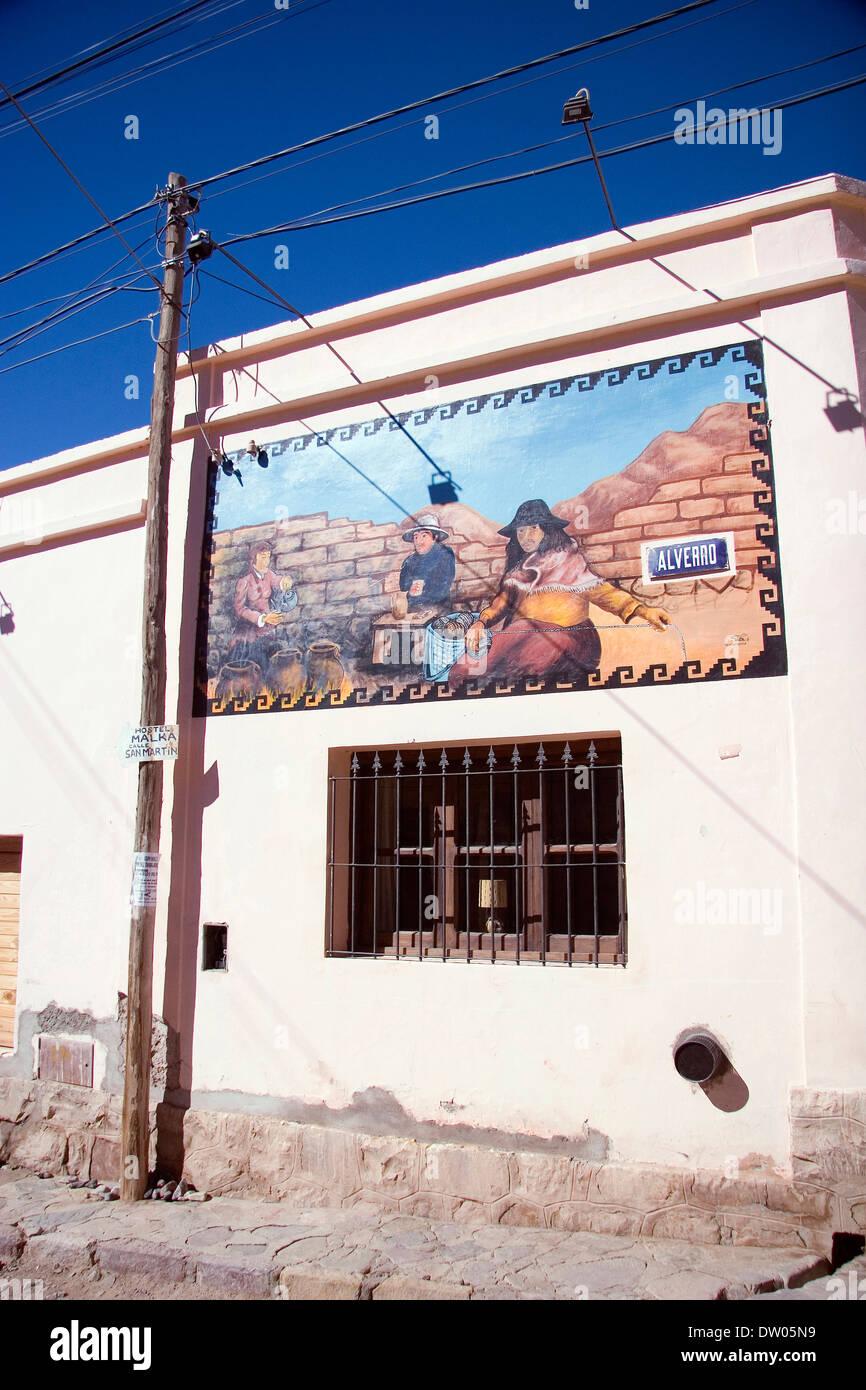 Humahuaca, Quebrada de Humahuaca, Jujuy, Argentine Stock Photo