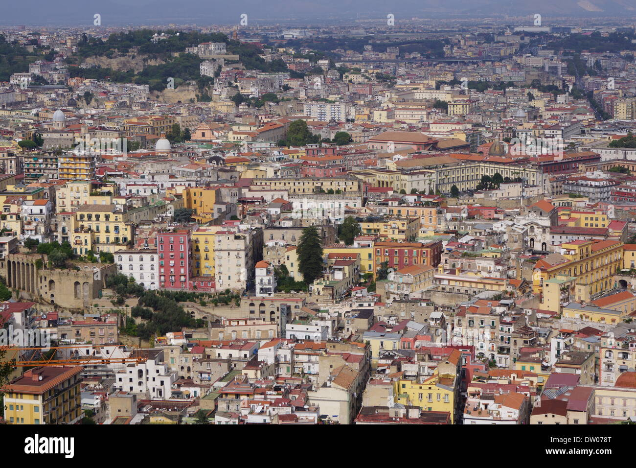naples view Stock Photo
