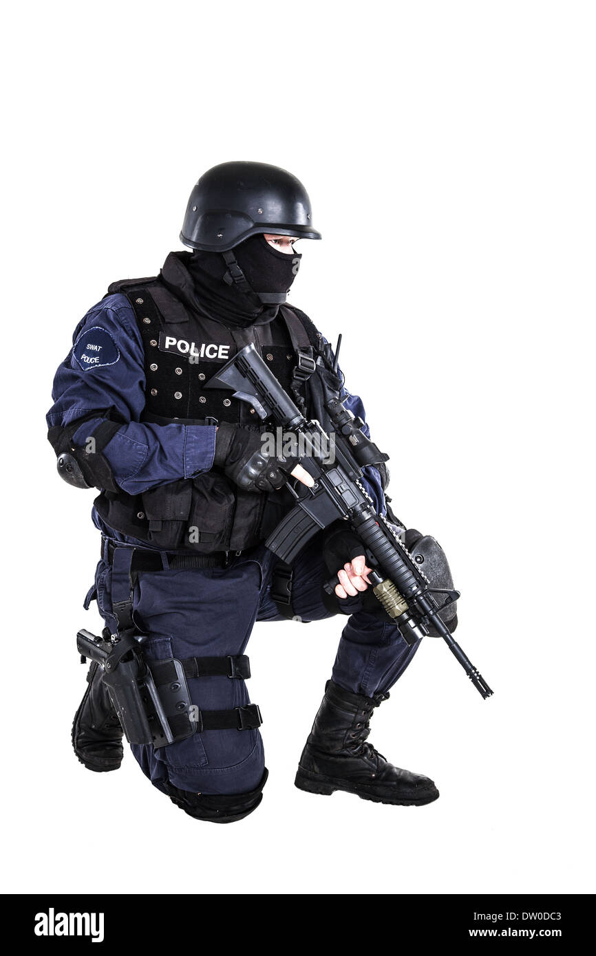 SWAT officer Stock Photo: 67008035 - Alamy